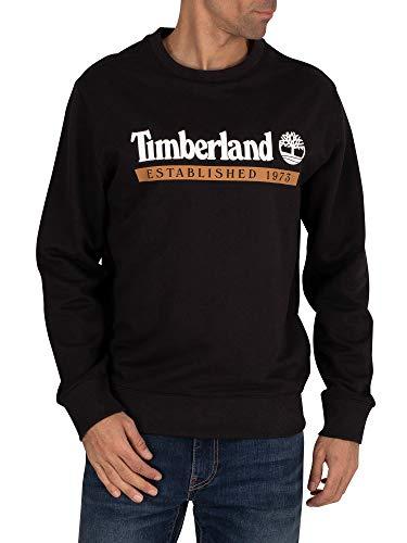 Timberland Established 1973 Crew Sweater Large Black-Wheat Boot
