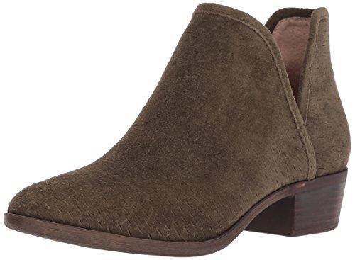 Lucky Brand Women's Baley Fashion Boot, Dark Olive, 5.5 Medium US