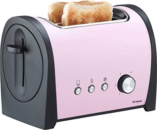 Trisa Retro Line Toaster Rosa, Schwarz