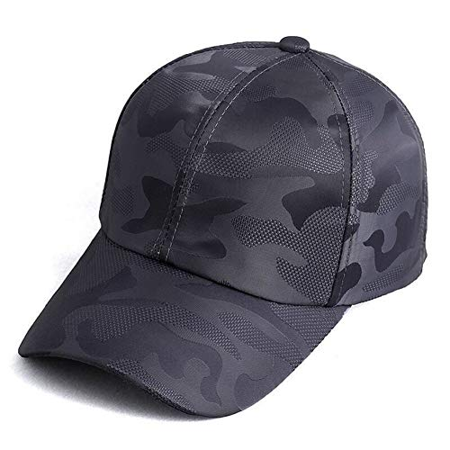 Victor Johnsond Kappe 2018 Sommer Mens Camouflage Camo Cap Kadett Casquette Wüste Camo Hut Mesh Baseball Cap Jagd Angeln Blank Desert Hat Cap (Color : 3, Size : 55 60cm)