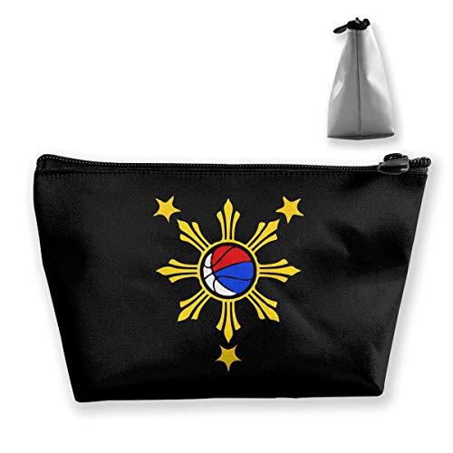 Philippinische Basketball-Philippinen-Flaggen-Reise-Kulturtasche tragbare Make-upfälle