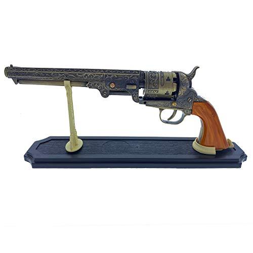 US Decorative Western Style Navy Revolver Display