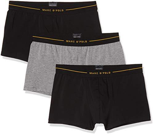Marc O'Polo Body & Beach Herren Multipack M-Shorts 3-Pack Boxershorts, Grau (Grau-Mel. 202), Medium (Herstellergröße: M) (3er Pack)