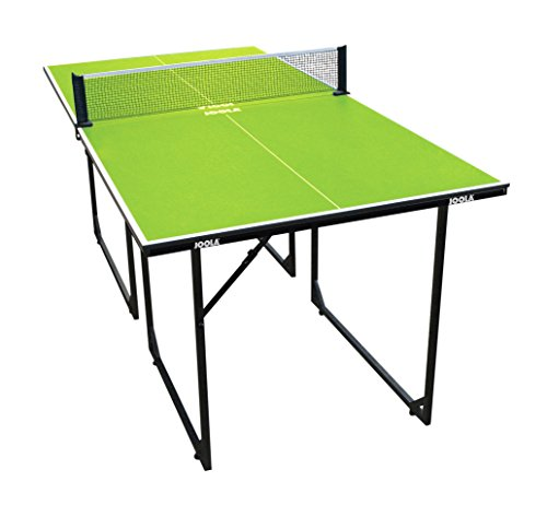 JOOLA Tischtennistisch MIDSIZE-Indoor Tischtennisplatte Freizeittisch Inklusive Tischtennisnetz-22 KG, grün, 168 x 84 x 76 cm