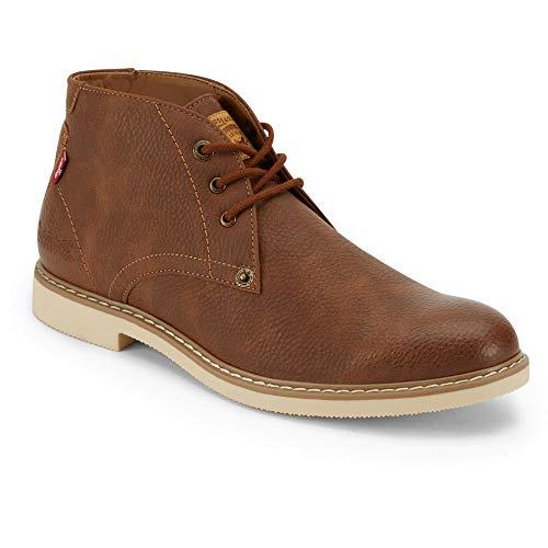 Levi's Monroe WX Botas Chukka Casual para hombre, marrón (bronceado (British Tan)), 41 EU