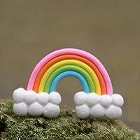 Energy supply DIYカラフルなレインボーケーキトッパー誕生日ウエディングケーキクラウド誕生日パーティーベーキング装飾用品