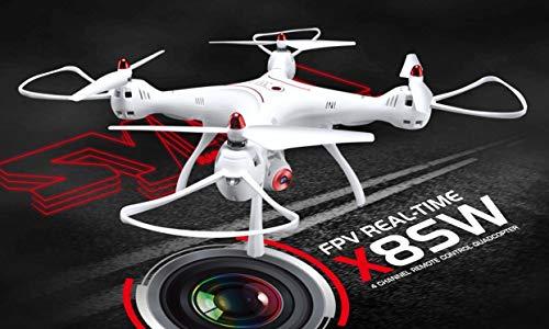 SYMA X8SW 2.4G 4CH FPV WIF RC Quadrocopter Drohne mit 1 MP Kamera + SD-Card