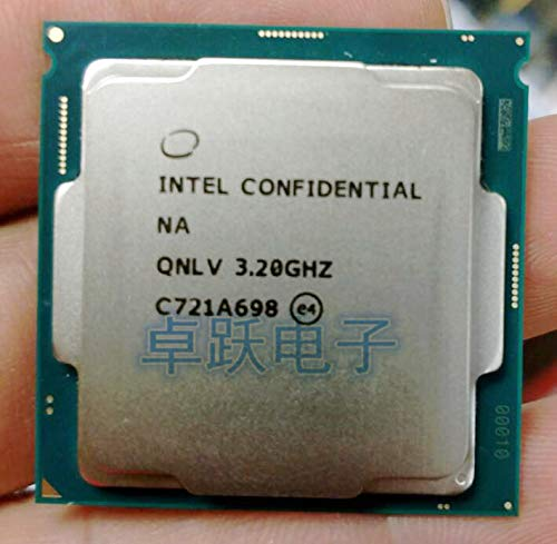 QNLV i7 8700K ES CPU 6 Core 12 Threads 3.2Ghz,Support Z370 and Other Eight-Generation motherboards, do Not Pick The Board
