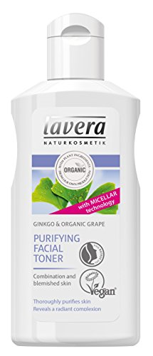 Lavera Organic Ginkgo & Grape Purifying Facial Toner (For Combination & Blemished Skin) 125ml
