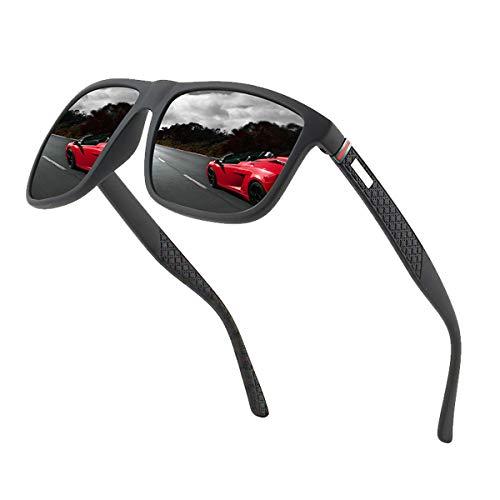 Lunettes de soleil polarisées pour hommes et femmes; cadres vintage/classiques/élégants; objectifs haute définition; golf/conduite/pêche/sports de plein air/lunettes de soleil tendance