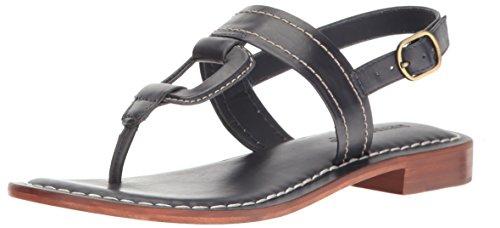 Bernardo Women's Tegan Flat Sandal, Navy, 6.5 M US