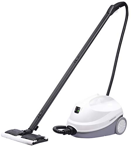 Domende Pressure+ Muti-Popurse Steam Cleaner,70psi 1500w with High Pressure Spray Gun for Bathroom, Kitchen, Surfaces, Carpet, Car Seats and Floor Cleaning