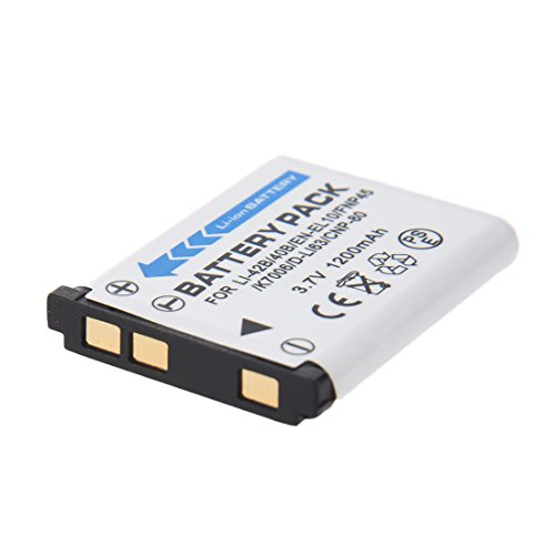 TOOGOO(R) 1200mAh Li-40B/42B bateria para Olympus Li-42B/Pentax D-Li63/Fuji NP-45/EN-EL10 +