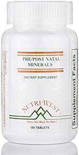 Pre/Post Natal Minerals - 180 Tablets by Nutri West