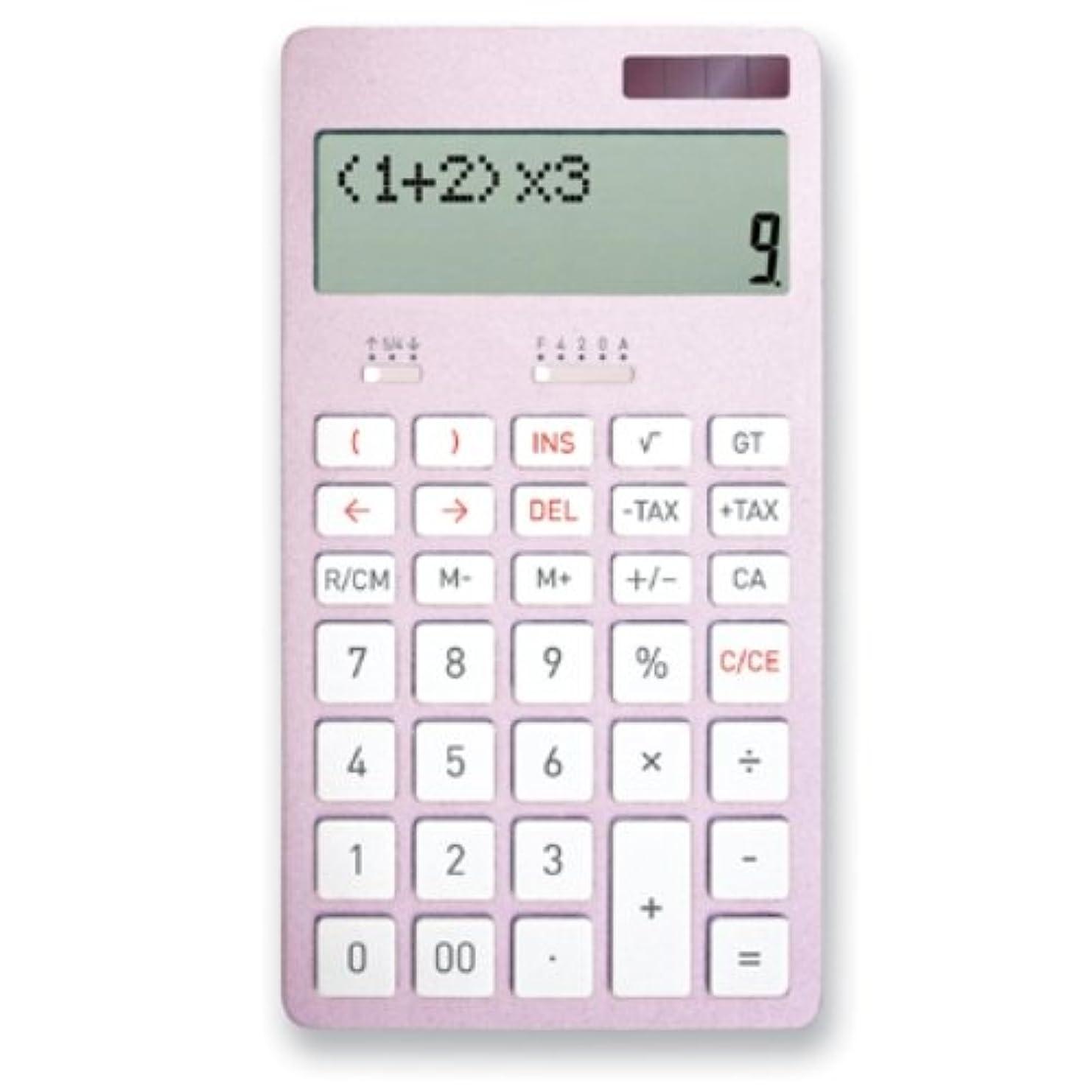 モンキー鹿大アスカ 計算式表示電卓C1222P C1222P