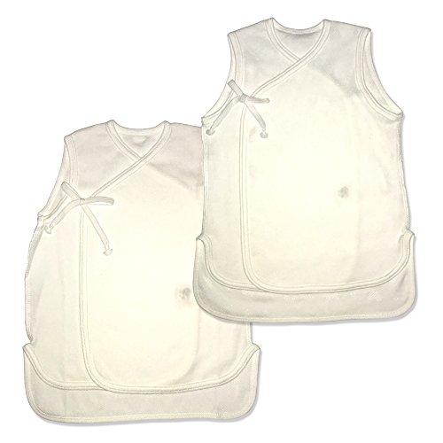 ベイビーハーツ 袖なし短肌着2枚セット 春夏&通年 60サイズ