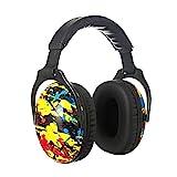 PROTEAR SNR 28 dB - Protectores auditivos para niños, protectores de oídos ideales para la sensibilidad al ruido de los niños bajo fuegos artificiales, viajes, eventos deportivos y entornos ruidosos