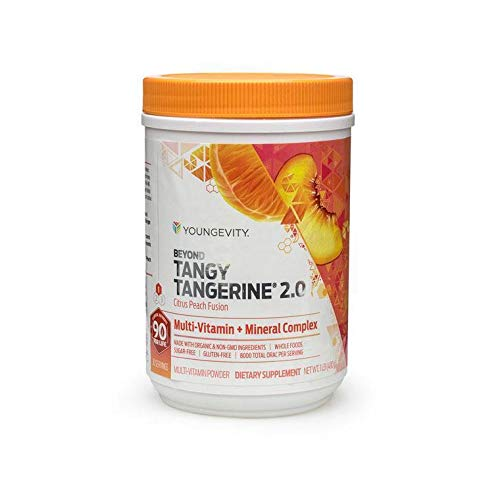 480g Canister Beyond Tangy Tangerine 2.0 Citrus Peach Fusion Youngevity Multivitamin (Worldwide Shipping) by Youngevity