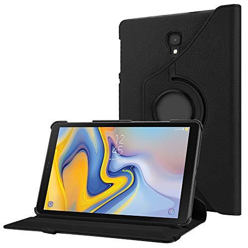 Fintie Hülle für Samsung Galaxy Tab A 10.5 2018, 360 Grad verstellbare Schutzhülle Cover Hülle Tasche mit Auto Schlaf/Wach Funktion für Galaxy Tab A 10,5 Zoll SM-T590/T595 Tablet-PC, Schwarz