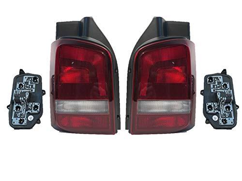 Rückleuchte Heckleuchte Rücklicht Li + Re Set Lampenträger T5 Multivan getönt