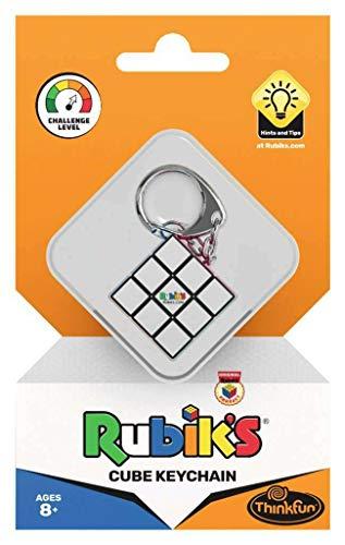 ThinkFun 76395 - Rubik's Cube der Schlüsselanhänger. Der original 3x3 Rubik's Cube in klein für deine Schlüssel oder als stylischer Anhänger für deine Tasche.