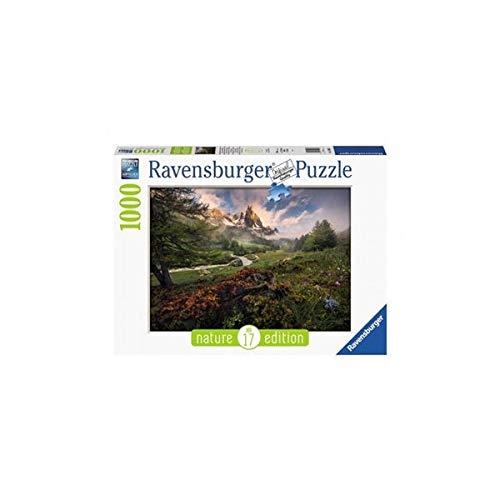 Ravensburger Puzzle 15993 - Malerische Stimmung im Vallée de la Clarée, Französischen Alpen - 1000 Teile
