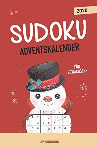 Sudoku Adventskalender für Erwachsene: Jeden Tag neue Sudoku Rätsel für eine besinnliche Adventszeit I über 70 Sudokus