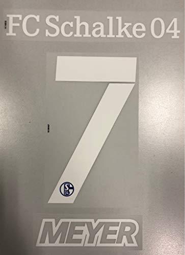 flock Original Trikot FC Schalke 04 18cm - Meyer 7
