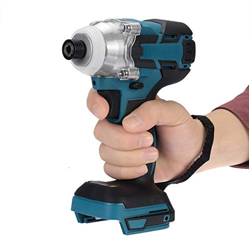 Cordless Electric Screwdriver Speed Brushless Impact Wrench Rechargable Drill Driver LED Light For Makita Battery