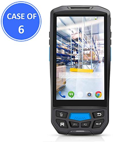 Save %23 Now! Case of 6 Packs, MUNBYN 3G 4G Rugged Handheld Android 7.0 Scanner with 2D Honeywell Ba...