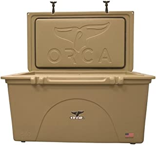 ORCA Coolers ORCT140 Roto-Molded Cooler, Tan
