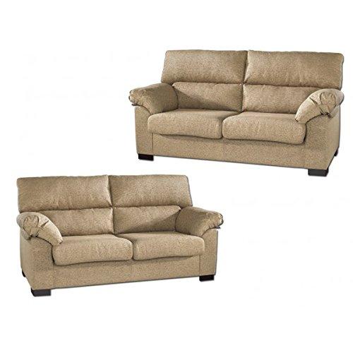 SHIITO Conjunto de sofás Tres más Dos plazas tapizados en Tela Elegir.