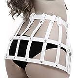 TBATM Handmade Harness Skirt, Punk Waist Cage Belt Adjustable Body Harness Straps für Nightclub Show Cosplay Bar Masquerade oder Self-pleasur
