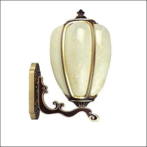 Lámpara de pared,lámpara de pared decorativa de calabaza en la villa del porche delantera,lámpara de lectura de la lámpara de pared elegante de diseño,adecuado for la sala de estar,porche,dormitorio,c