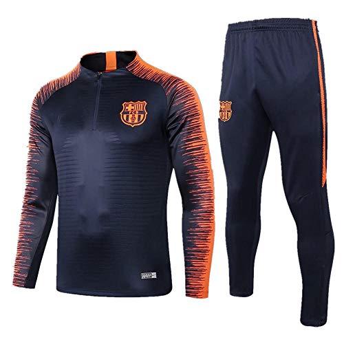zhaojiexiaodian 18-19 Barcelona Jersey trainingspak met lange mouwen ademende outfit