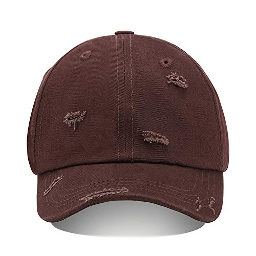 Peaked cap men and women solid color hole washing cap all-match student Korean spring and autumn sun protection hat