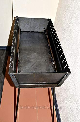 Sale Brazier case Schaschlik Grill Portable Mangal Höhenverstellbar BBQ MEGA Мангал 10 Skewer