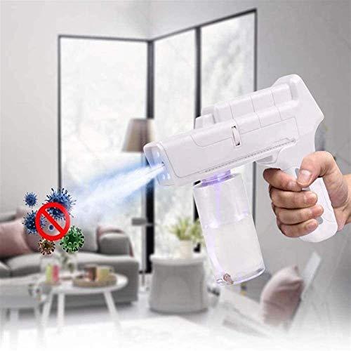 Qiutianchen Sprayer Electric Ulv-Fogger, Batterie-Fogger-Maschine, tragbare Handheld-Sterilisations-Spritzgängerpistole für Zuhause, Büro, Schule