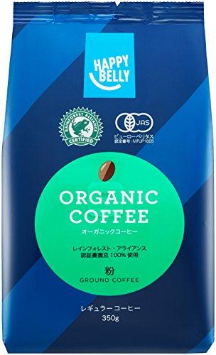 スマートマットライト [Amazonブランド]Happy Belly オーガニックコーヒー 粉 350g