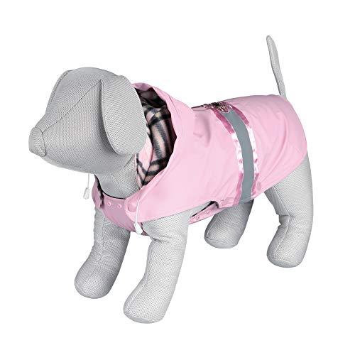 Côme Manteau pour chien avec une fleur à paillettesLongueur 33 cm