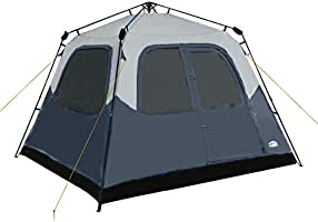 Pacific Pass Camping Tent 6 Person Instant Cabin Family Tent, Easy Set Up for Camp Backpacking Hiking Outdoor, Navy,...