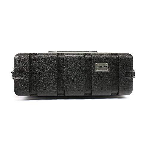 Justin ABS Rack Case 3HE Shallow Doubledoor Case