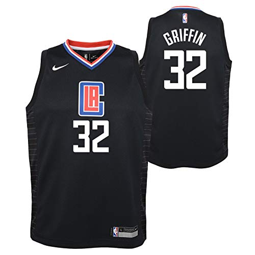 Outerstuff Blake Griffin Los Angeles Clippers NBA Nike Youth Black Statement Swingman Jersey
