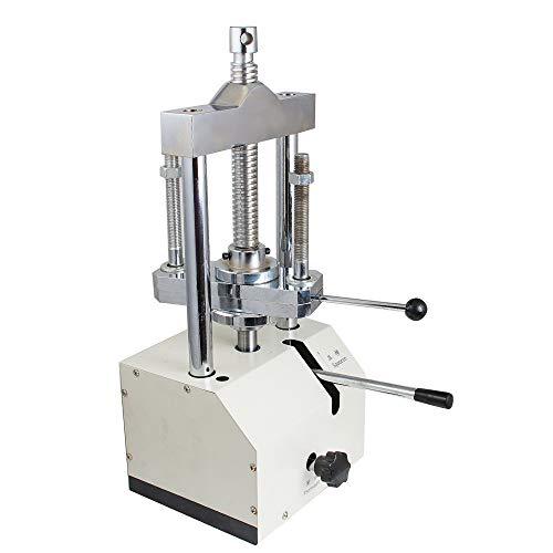 IXAER Dental Hydraulic Press Machine Laboratory Presser Flask Pressure Lifting Articulator Dentistry Denture Molding Press Lab Equipment for Technicians Rooms Pressing Lift Adjustable (US in Stock)