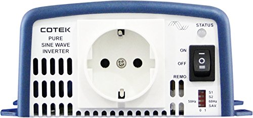 COTEK Wechselrichter, 24 V, 220 V, reine Sinus (350 Watt)
