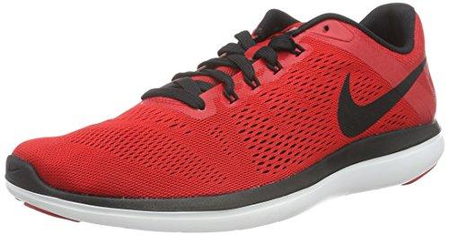 NIKE Men's Flex 2016 Rn University Red/Black/White/Black Running Shoe 8 Men US