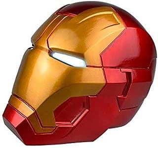 Jacos Iron Man Helmet iron man mask for Kids-PVC overhead Mask with Eyes LED Light Cosplay Toys