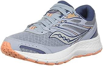 Saucony Women's Cohesion 13 Running Shoe, Blue Mist/Mel, 9