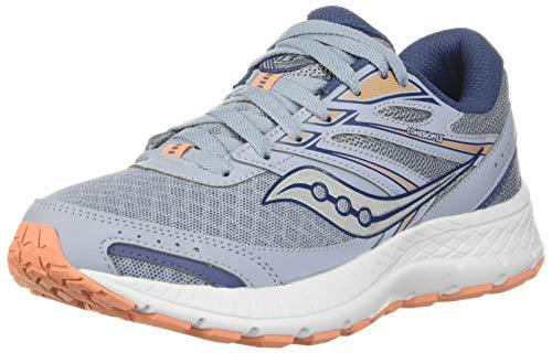 Saucony Women's Cohesion 13 Running Shoe, Blue Mist/Mel, 10