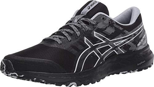 ASICS Men's Gel-Scram 5 Trail Running Shoes, 13M, Black/White